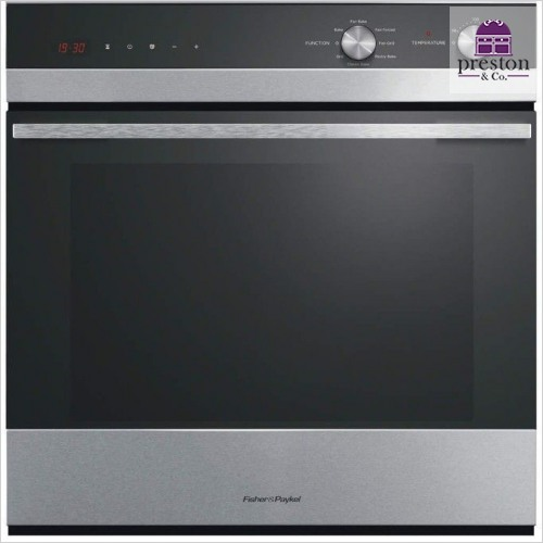 Built-In 600mm 7 Function Single Oven 112mm Fascia