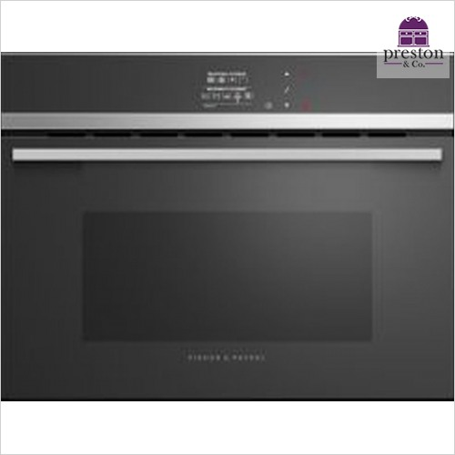 Fisher & Paykel - Designer Electronic Control Combination Microwave & Grill