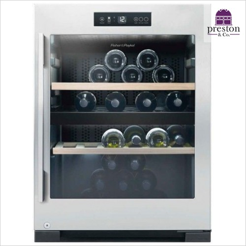 Fisher & Paykel - Wine Cabinet - 50 Bottle Dual Zone