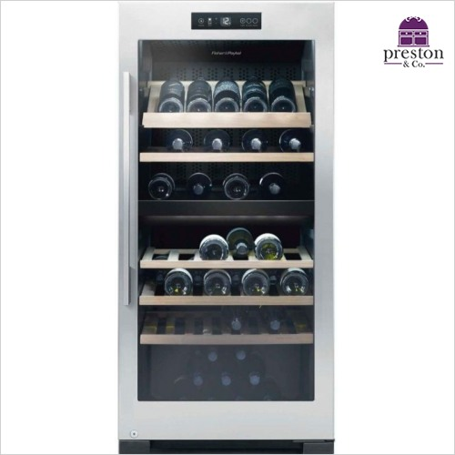 Fisher & Paykel - Wine Cabinet - 83 Bottle Dual Zone