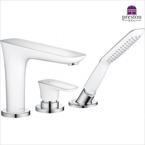 Hansgrohe - Puravida Rim Mounted 3H Bath Shower Mixer