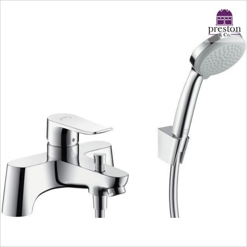 Hansgrohe - Metris Rim Mounted Bath Shower Mixer
