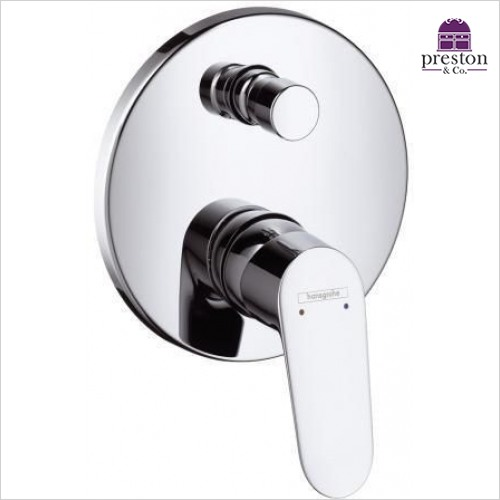 Hansgrohe - Focus E 2 Single Lever Bath Shower Mixer