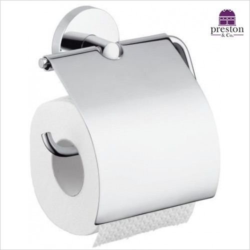 Hansgrohe - Logis Roll Holder With Cover