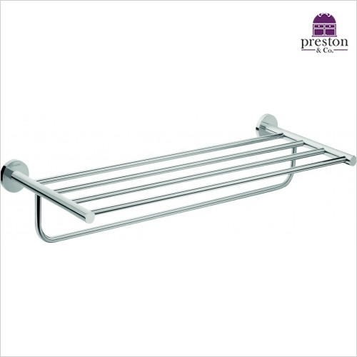 Hansgrohe - Logis E Towel Rack With Bath Towel Holder