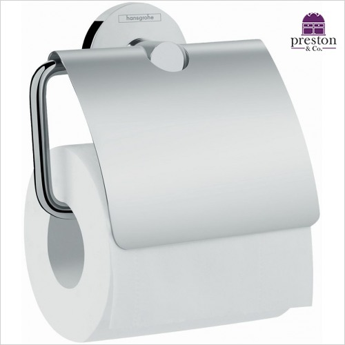 Hansgrohe - Logis E Roll Holder With Cover