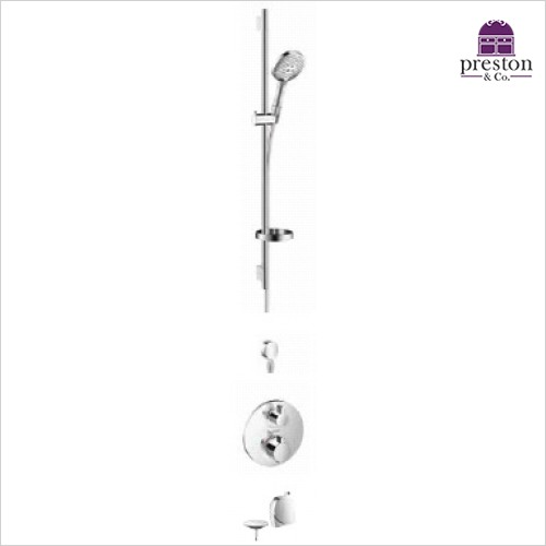 Hansgrohe - Round Valve With Raindance Select Rail Kit & Exafill