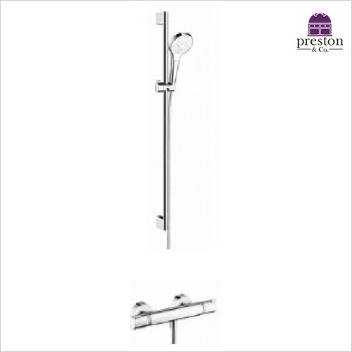 Hansgrohe - Round Croma Select Rail Kit With Valve