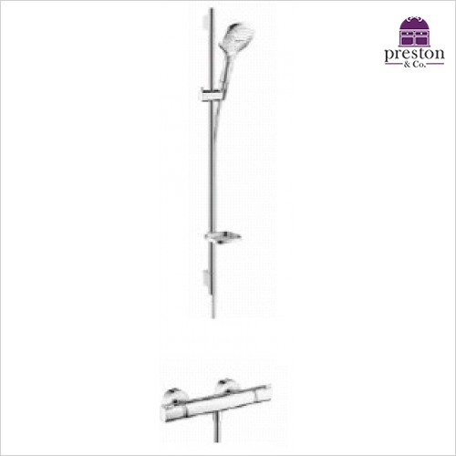 Hansgrohe - Soft Cube Raindance Select Rail Kit With Valve