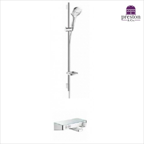 Hansgrohe - Soft Cube Raindance Select Rail Kit W/Select Bath/Shwr Valve