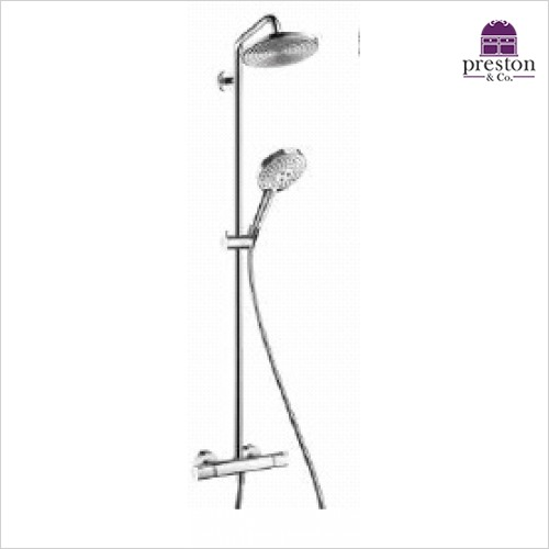 Hansgrohe - Round Raindance Select 240 Showerpipe