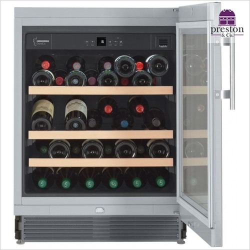 Liebherr - GrandCru 82-87cm Built Under Wine Storage Cabinet