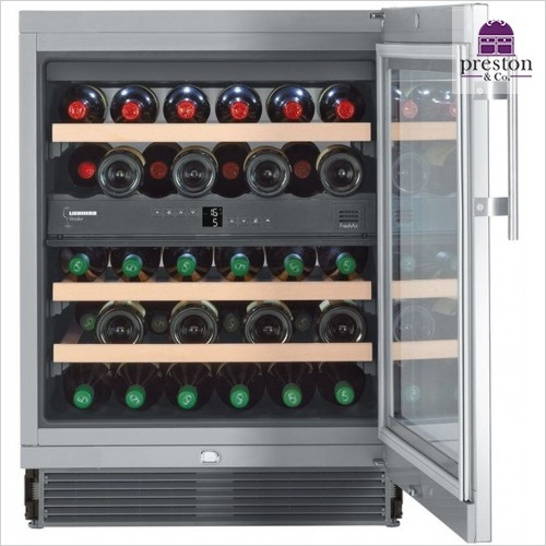 Liebherr - Vinidor 82-87cm Built Under Wine Storage Cabinet